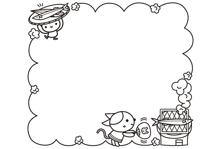 10月の子どものイラスト Priprionline あなたの保育をサポートする