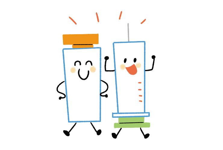 予防接種は集団⽣活におけるエチケット