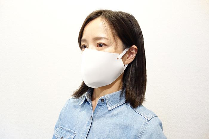 Pペーパーでつくる立体マスク