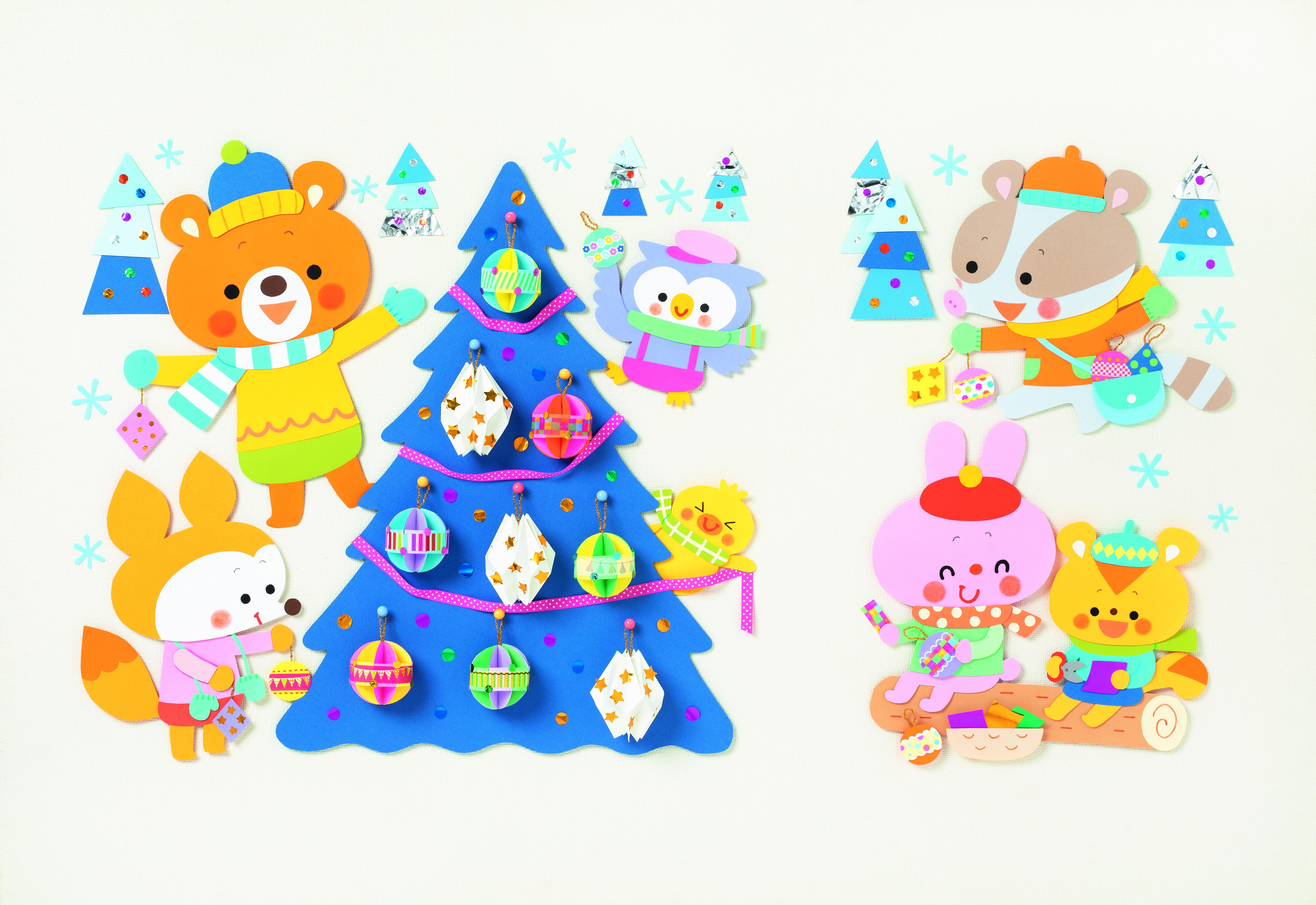 キラキラ森のクリスマス